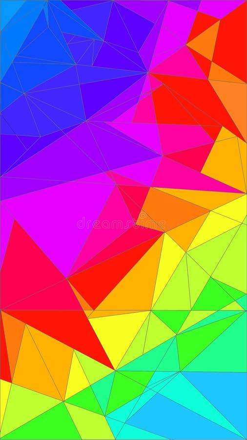 triangles image libre de droits