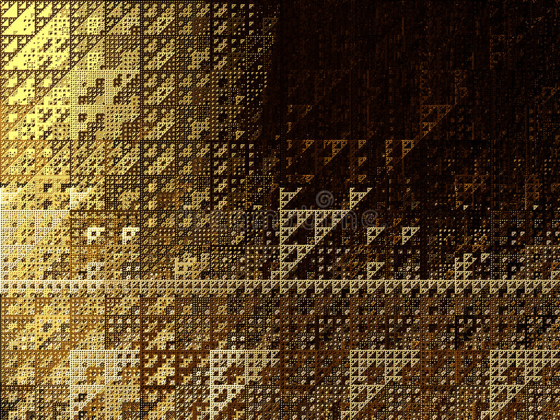 Triangles Abstraites De Fond Image libre de droits