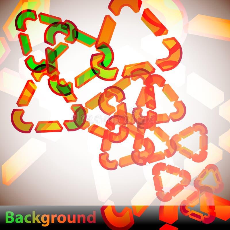Download Triangles Background stock illustration. Illustration of decoration - 14965342