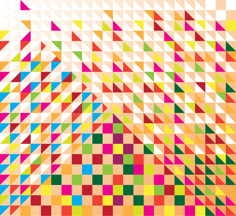 Download Triangles stock vector. Image of business, background - 32111856