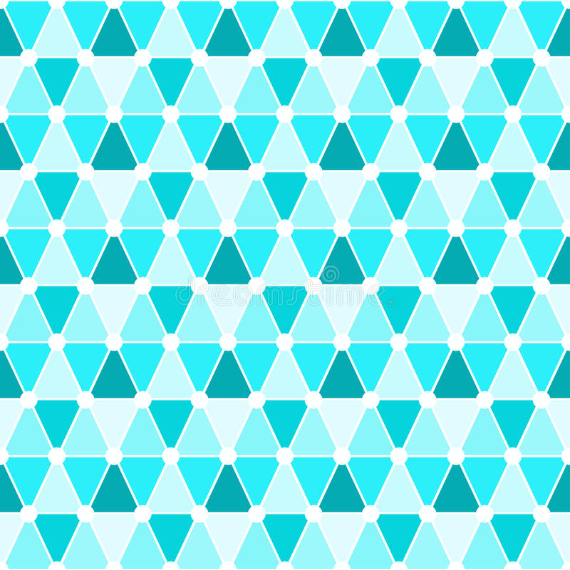 Triangles seamless pattern background vector illustration