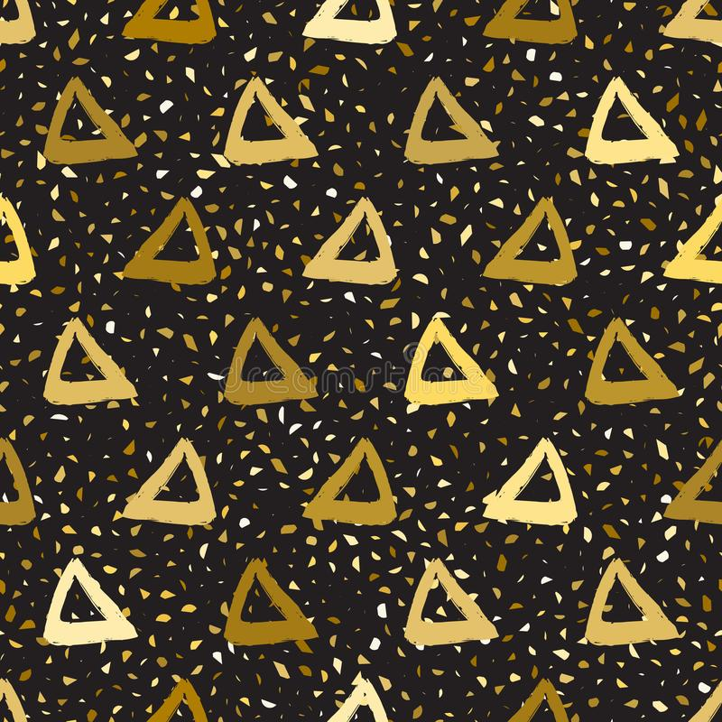 Triangoli senza cuciture del modello illustrazione vettoriale