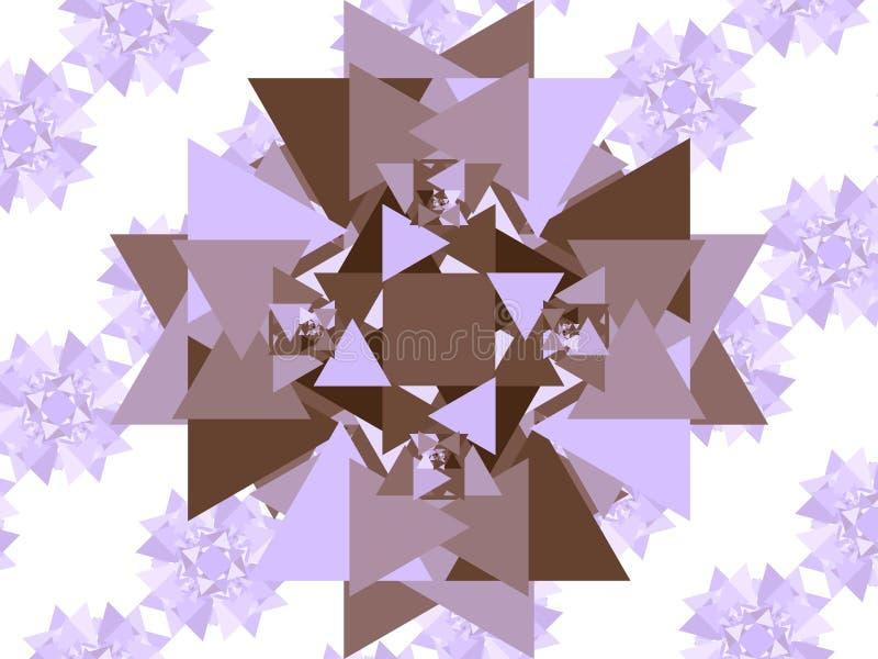 Triangoli soltanto illustrazione di stock