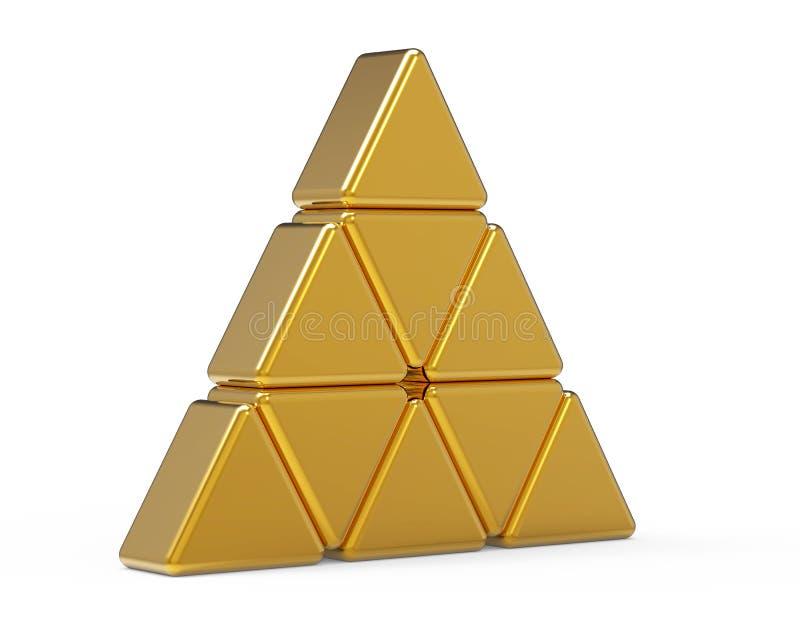 Triangolo illustrazione vettoriale
