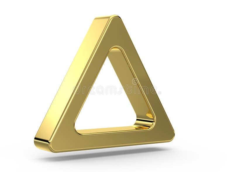 Triangolo illustrazione di stock