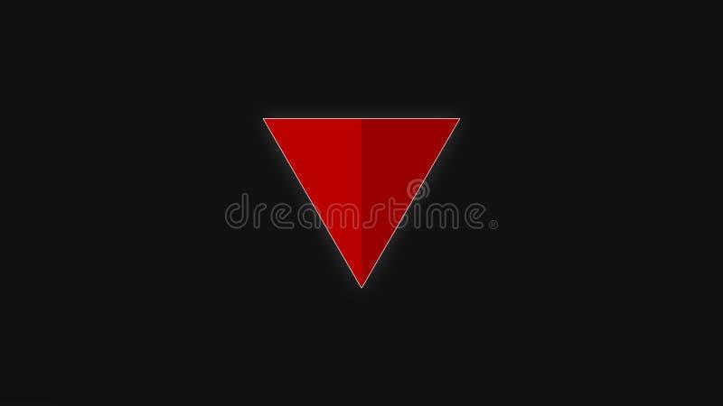 triangolo immagine stock
