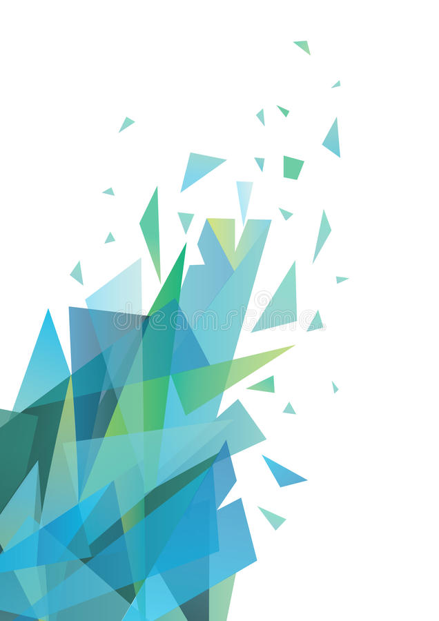 Triangolo astratto. royalty illustrazione gratis