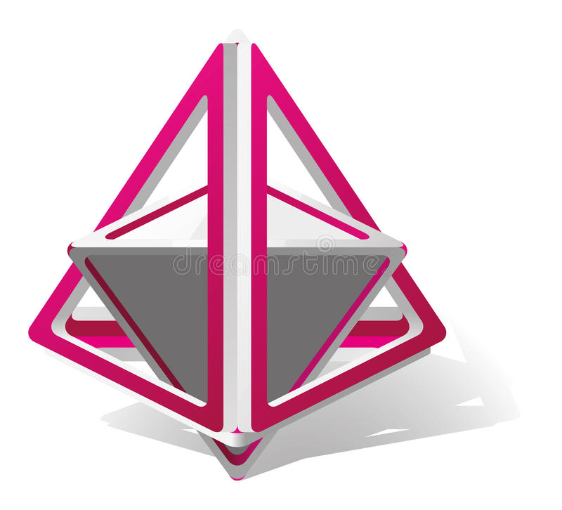 Triangolo astratto royalty illustrazione gratis