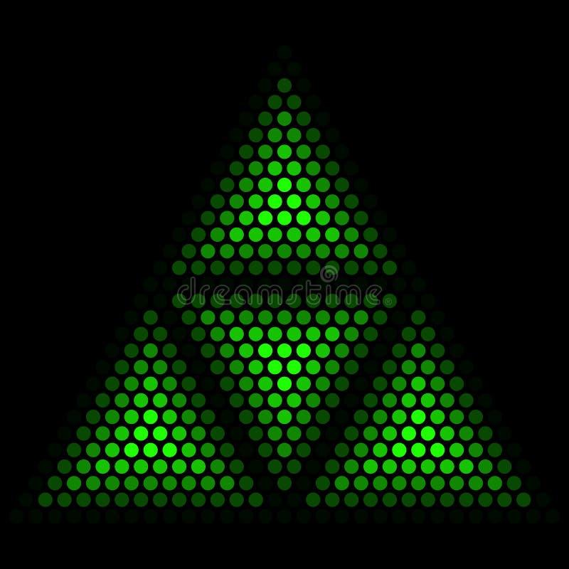 Triangolo astratto royalty illustrazione gratis