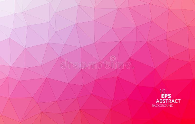 Triangulär abstrakt bakgrund arkivbilder