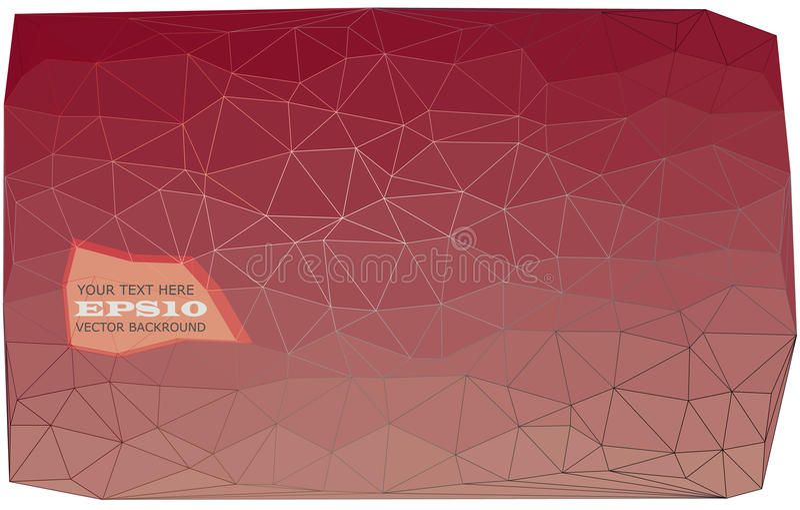 Triangulär abstrakt bakgrund arkivbild