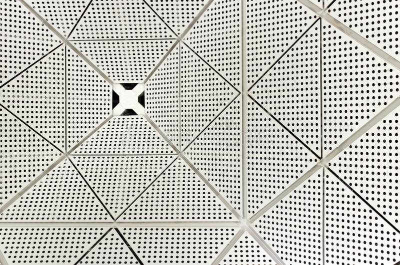 Triangulär virvelmodell arkivbilder