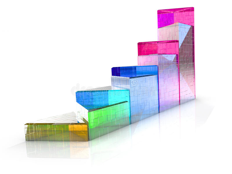 triangular diagram translucent colored items d illustration 76228552 triangular diagram of the translucent colored items stock