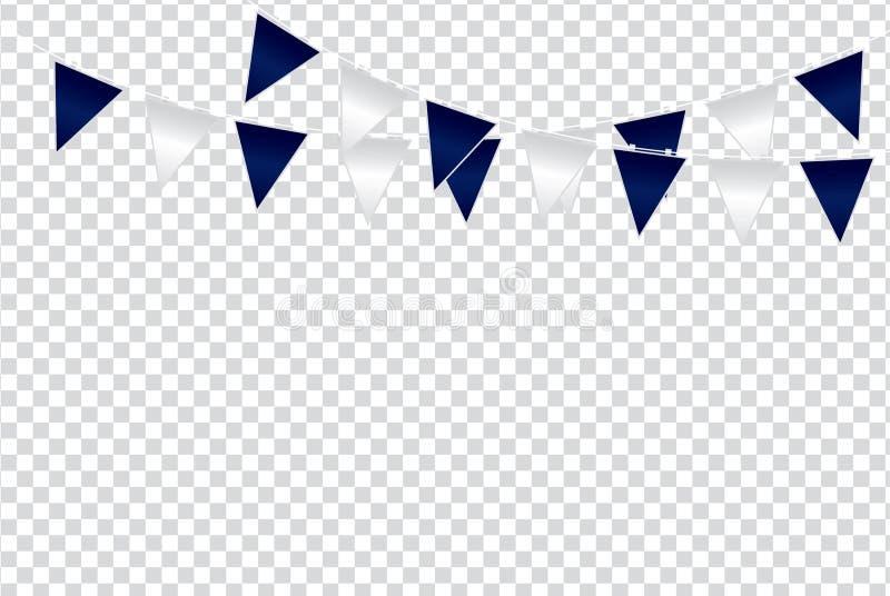 Triangular flag color ideas design illustration on trans royalty free stock photo