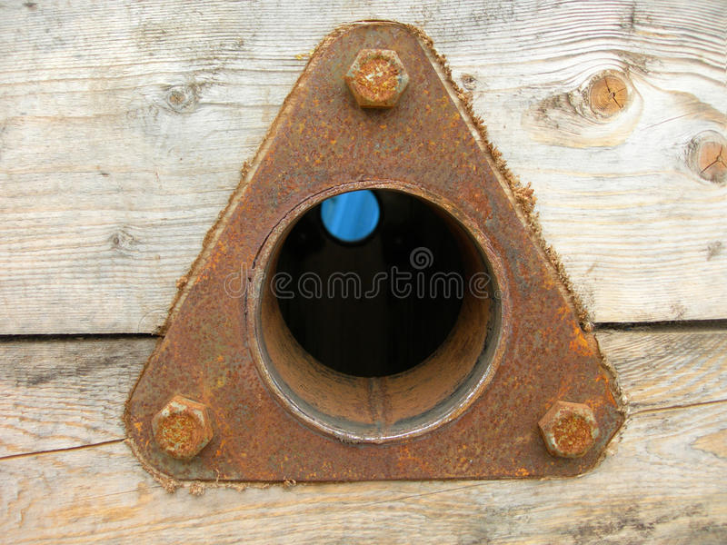 Download Triangular Rusty Metal Spare Part Royalty Free Stock Image - Image: 26323866