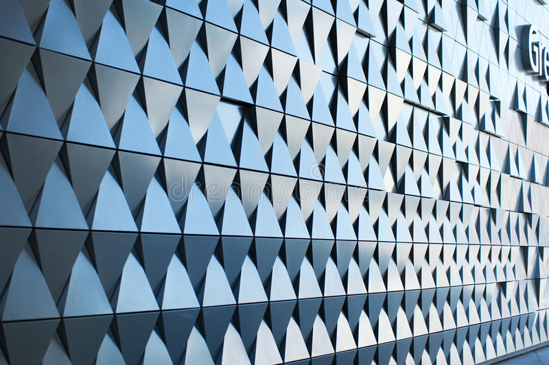 Triangular Shaped Wall Design Stock Photo Image 59128814
