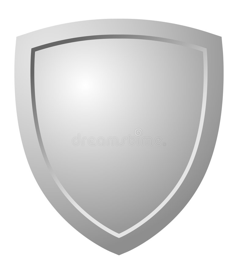 Triangular Shield stock illustration