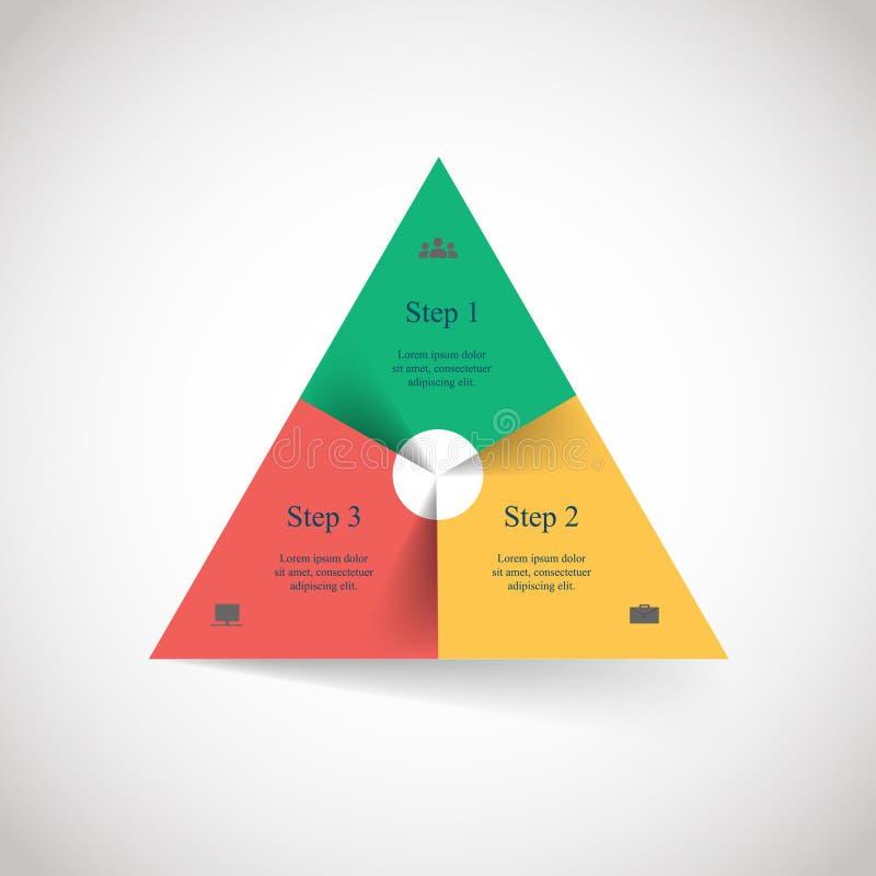 Template for presentation vector illustration