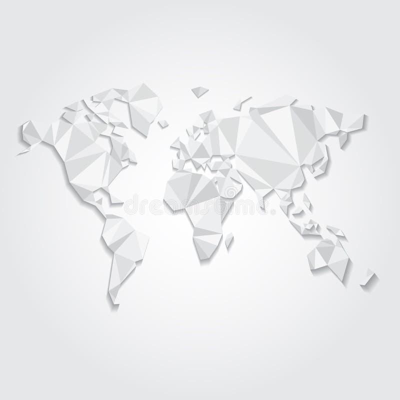 Triangular world map vector file stock vector illustration of download triangular world map vector file stock vector illustration of planet geography 36637007 gumiabroncs Choice Image