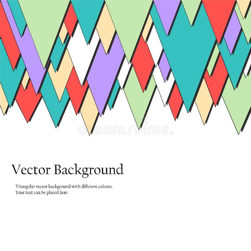 Download Triangulars Bedrijfsbrochure Vector Illustratie - Illustratie bestaande uit brochure, pamflet: 54076096
