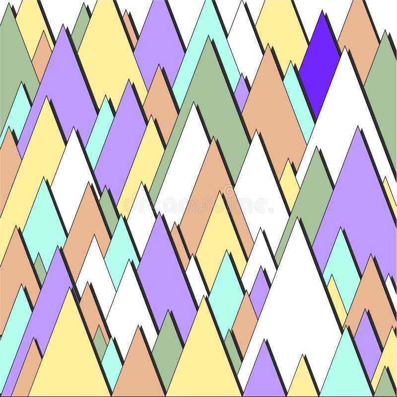 Download Triangulars Bedrijfsbrochure Vector Illustratie - Illustratie bestaande uit zaken, digitaal: 54076218