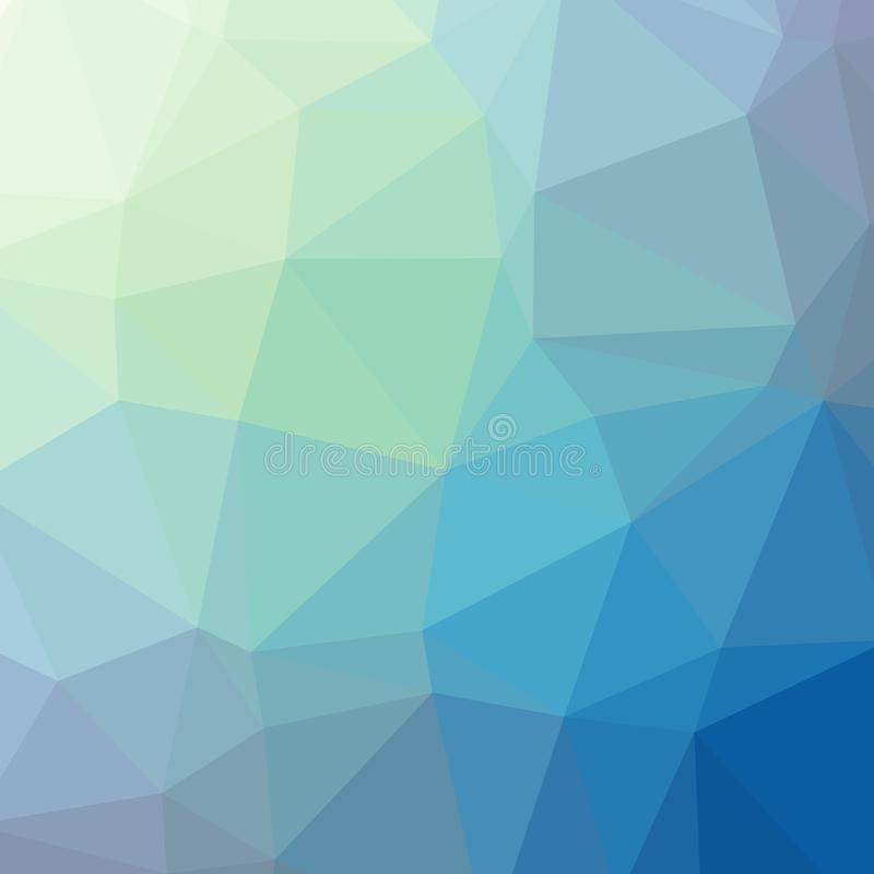 Triangulated purple blue gradient background image. For web and print. Centered stock images