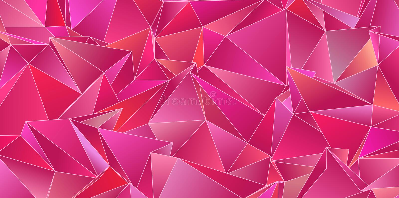 Triangulated tekstura Projekt Poligonalny geometrical wzór Trójgraniasty nowożytny styl zdjęcie royalty free
