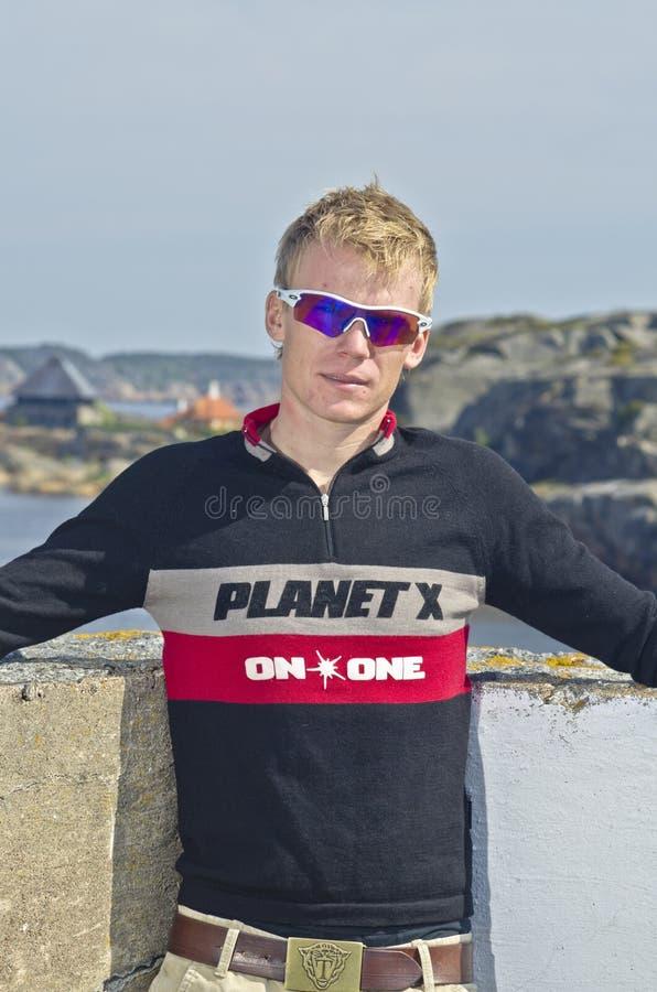 Triathlete stockbilder