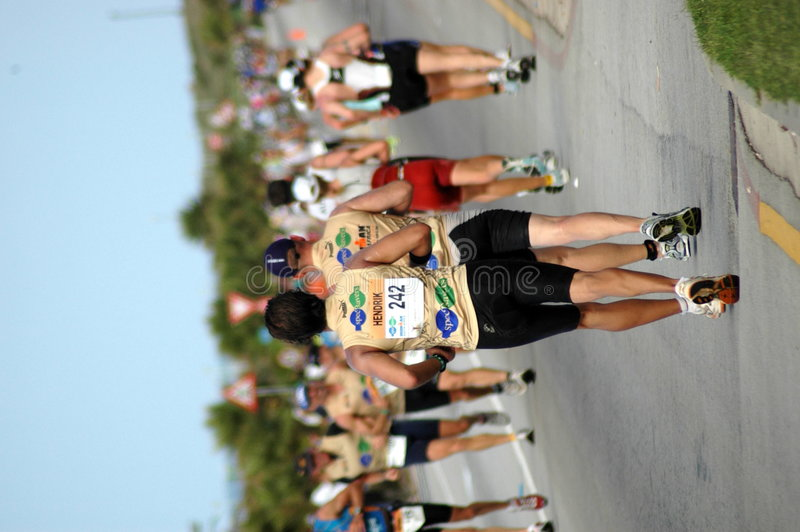 triathletes fotografia royalty free