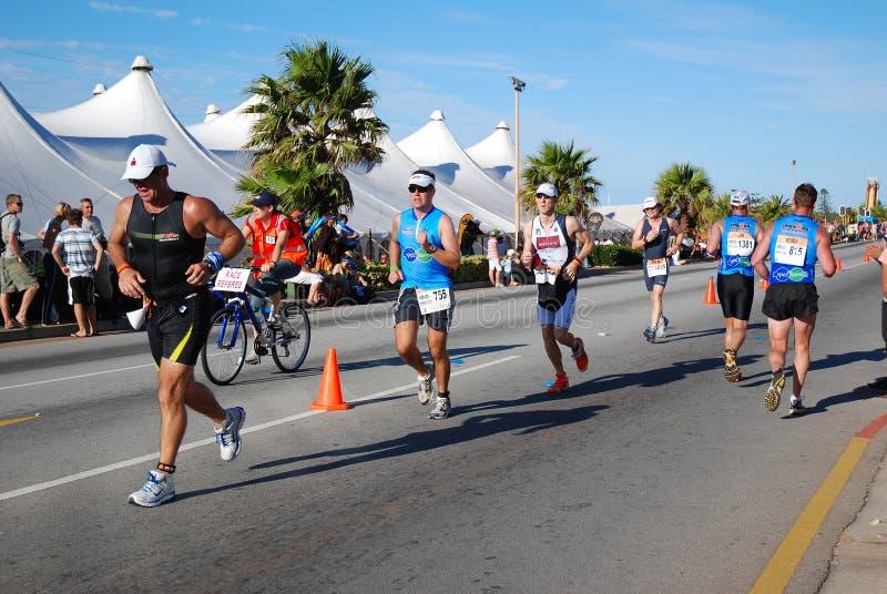 Triathletes images libres de droits