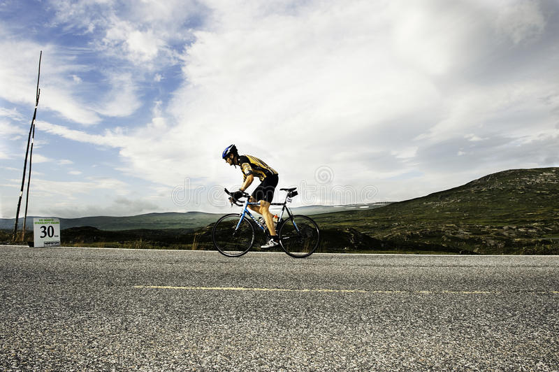 Triathlon foto de archivo