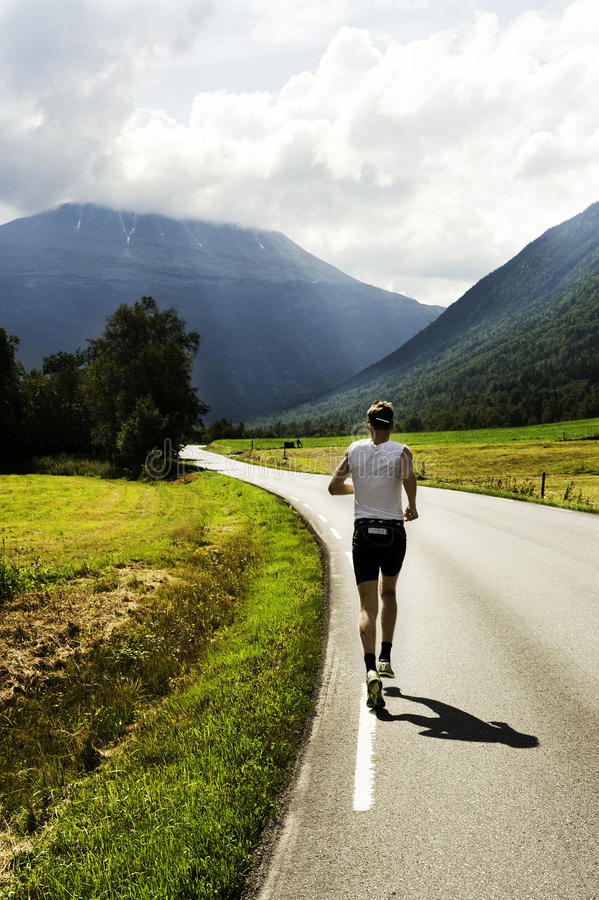 Triathlon immagine stock libera da diritti