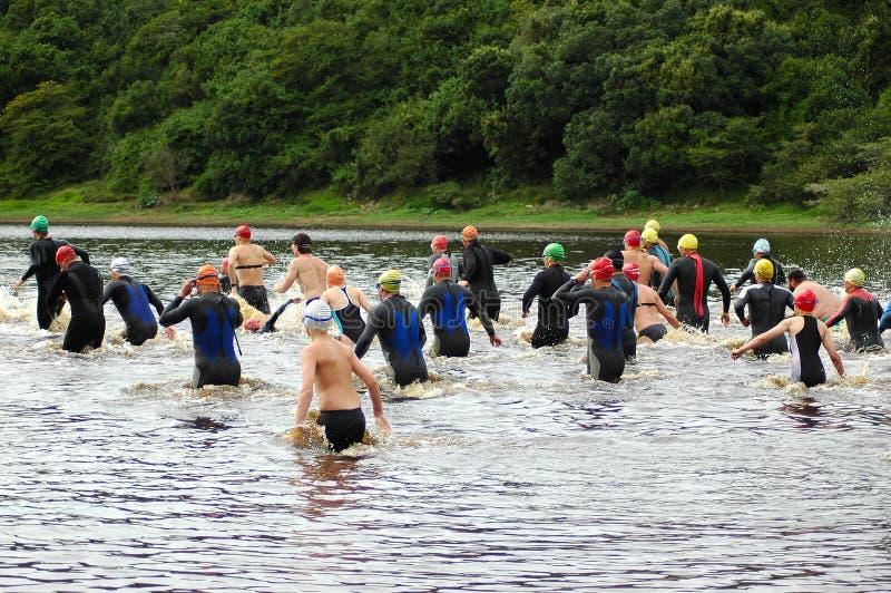 Triathlon royalty free stock image