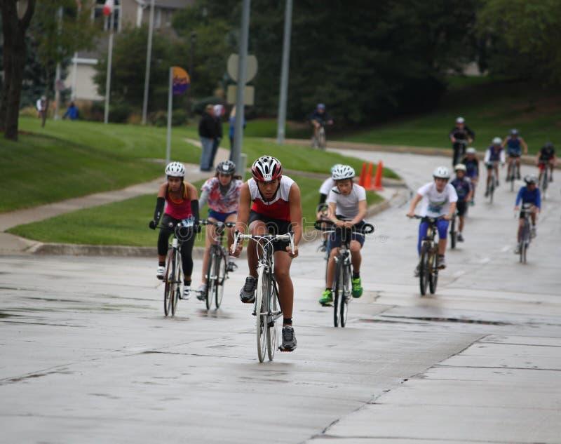 triathlon 2011 ironkids чемпионата мы стоковая фотография rf