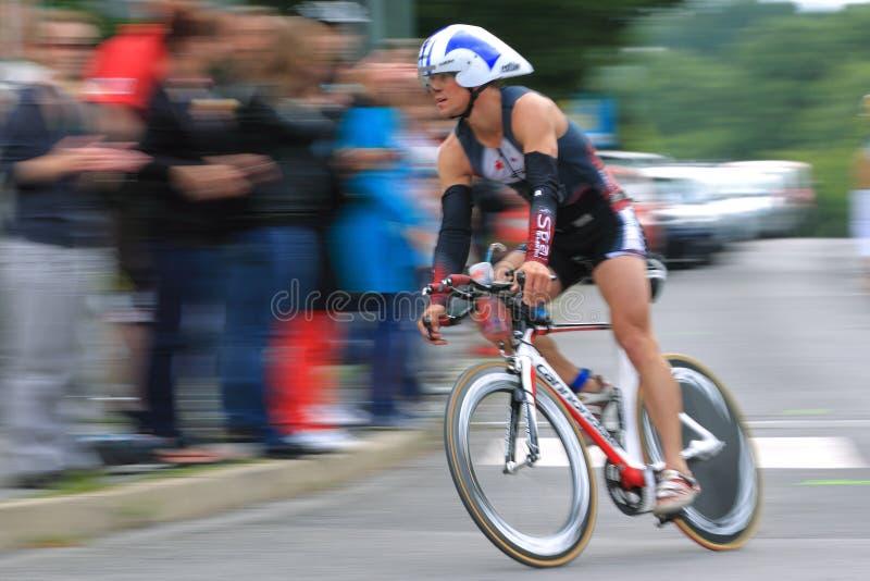 Triathlon 2012 de Praga foto de archivo libre de regalías