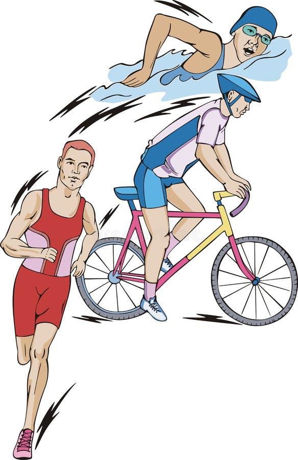 Triathlon απεικόνιση αποθεμάτων
