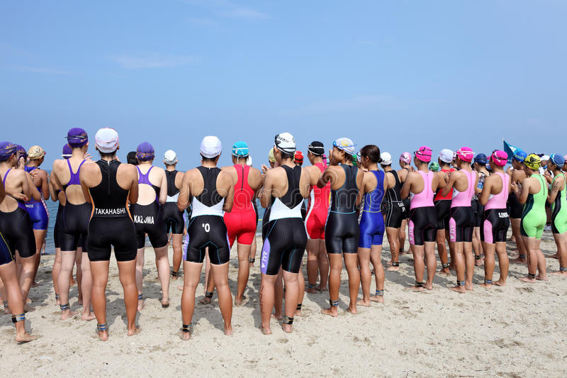 Download Triathlon editorial photography. Image of seaside, fitness - 26471862