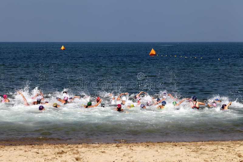 Download Triathlon editorial photography. Image of extreme, orient - 26471907