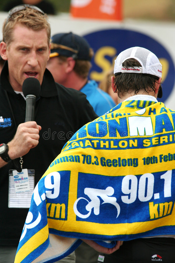 triathlon royaltyfri fotografi