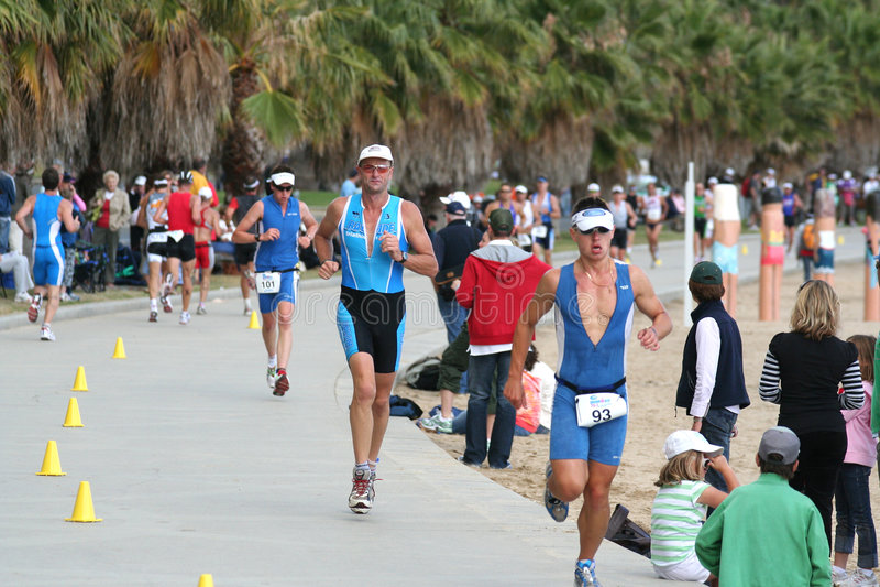 Triathlon photo libre de droits