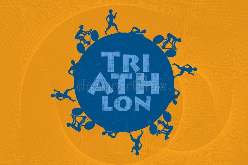 triathlon libre illustration