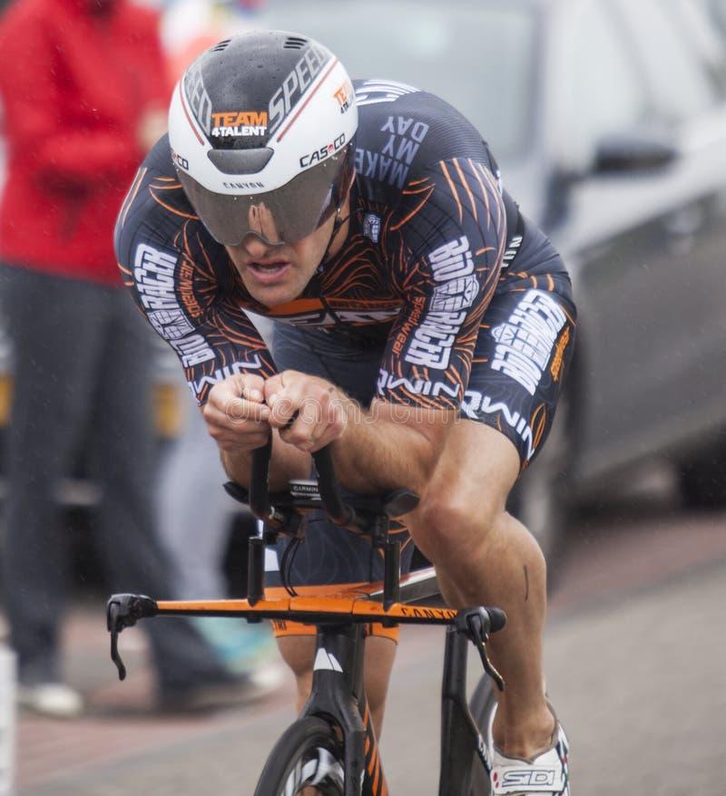 Free Triathlon Cyclist (Bas Diederen) Stock Photography - 54833812