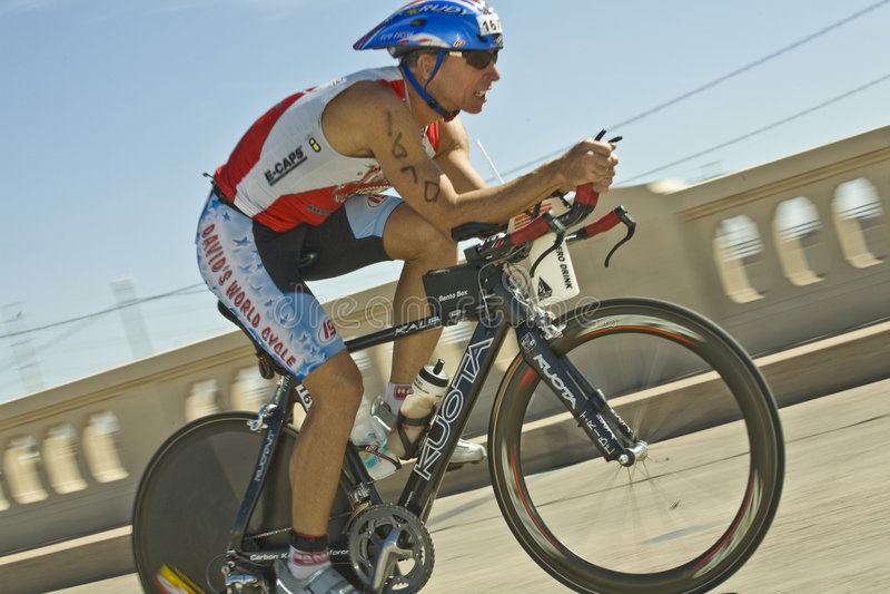 Triathlon de Phoenix Ironman imagem de stock