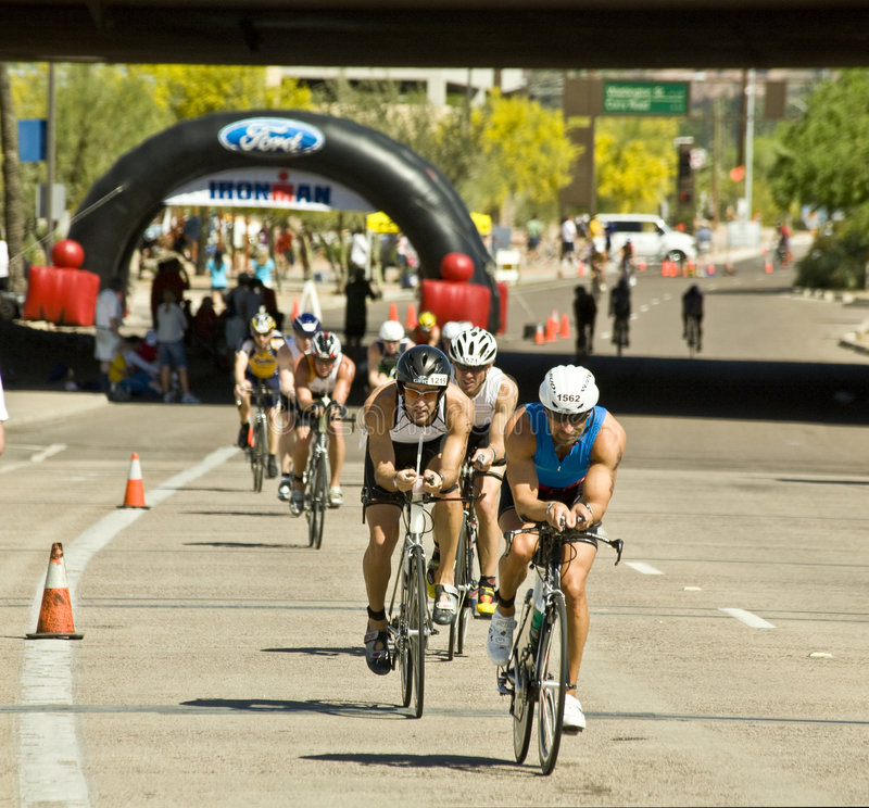 Triathlon de Phoenix Ironman imagenes de archivo