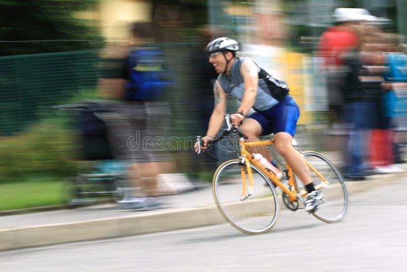 Triathlon 2012 de Praga fotografía de archivo