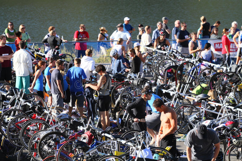 Download Triathlon Race Area Editorial Photography - Image: 17294582