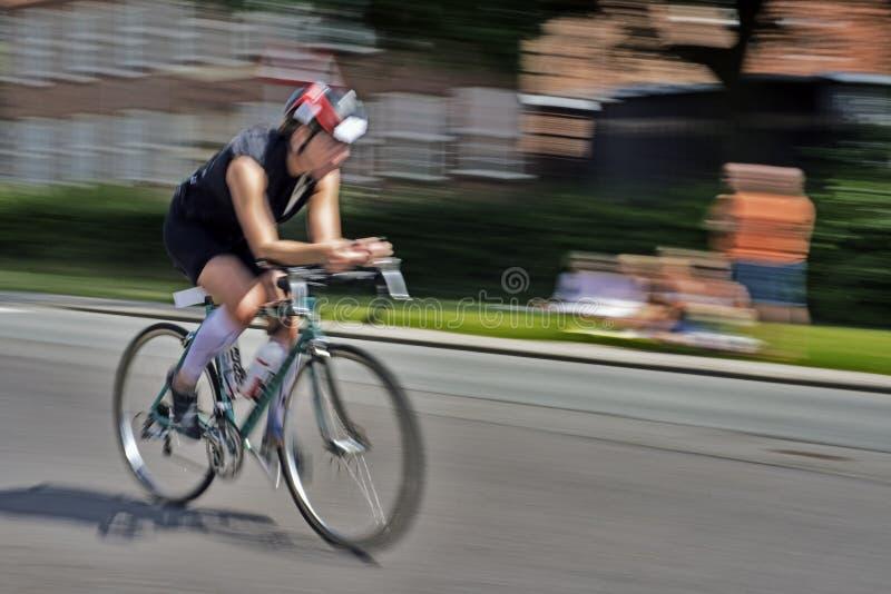 Triathlon rasa obraz stock