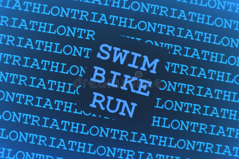 Triathlonhintergrund