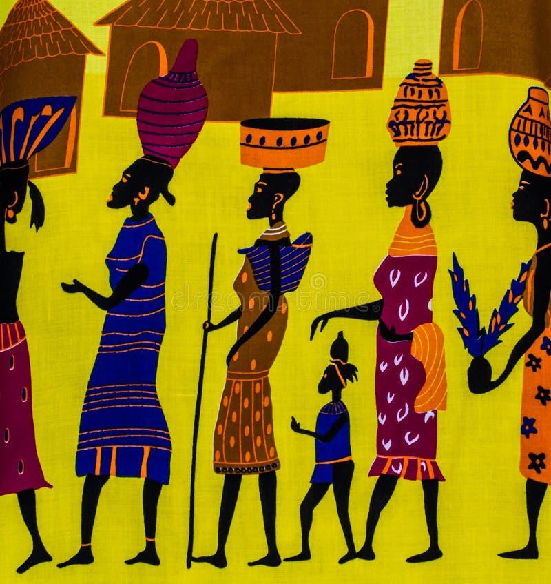 Tribù africana fotografia stock libera da diritti