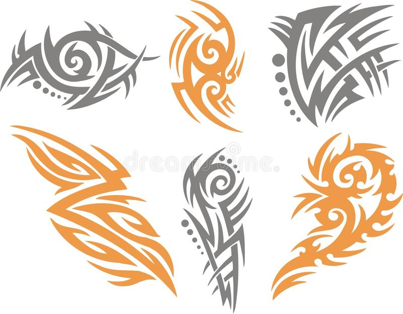 Stock Illustration Volleyball Tribal Abstract Vector: Tribal . Stock Vector. Illustration Of Abstract, Painted